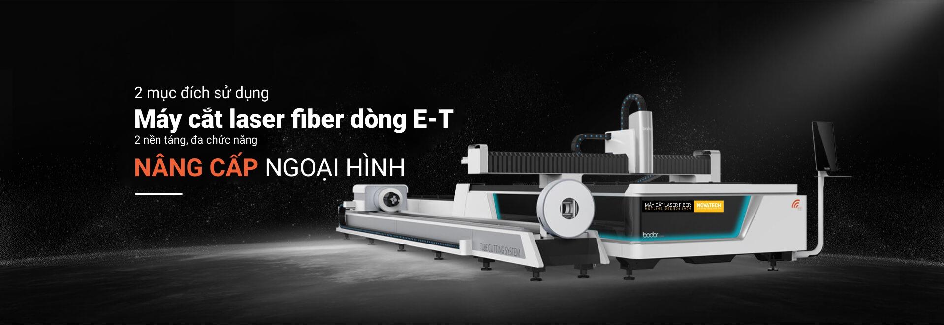 Máy cắt laser fiber BODOR dòng E-T