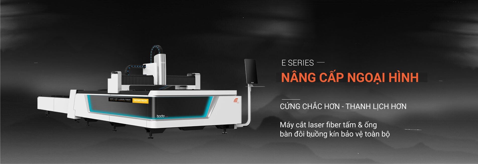 Máy cắt laser fiber bodor dòng E