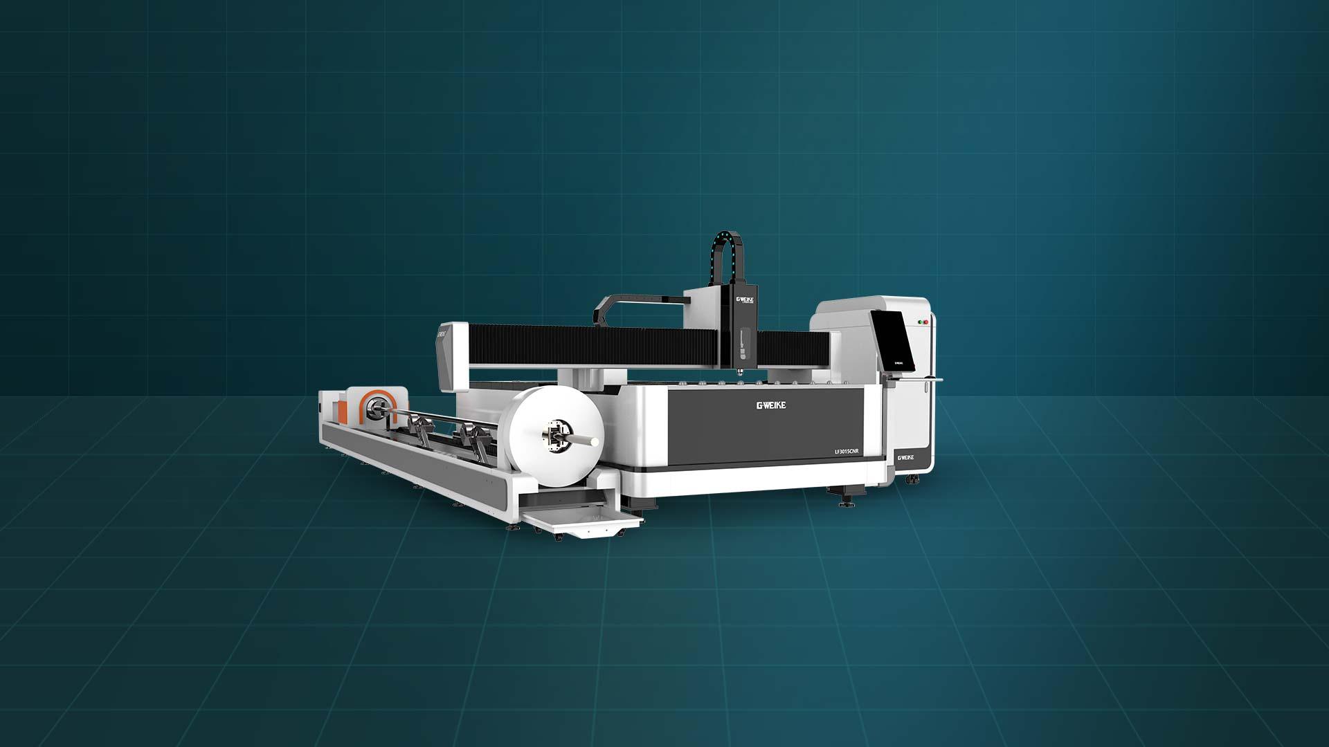 Máy cắt laser fiber tấm và ống LF-3015LNR