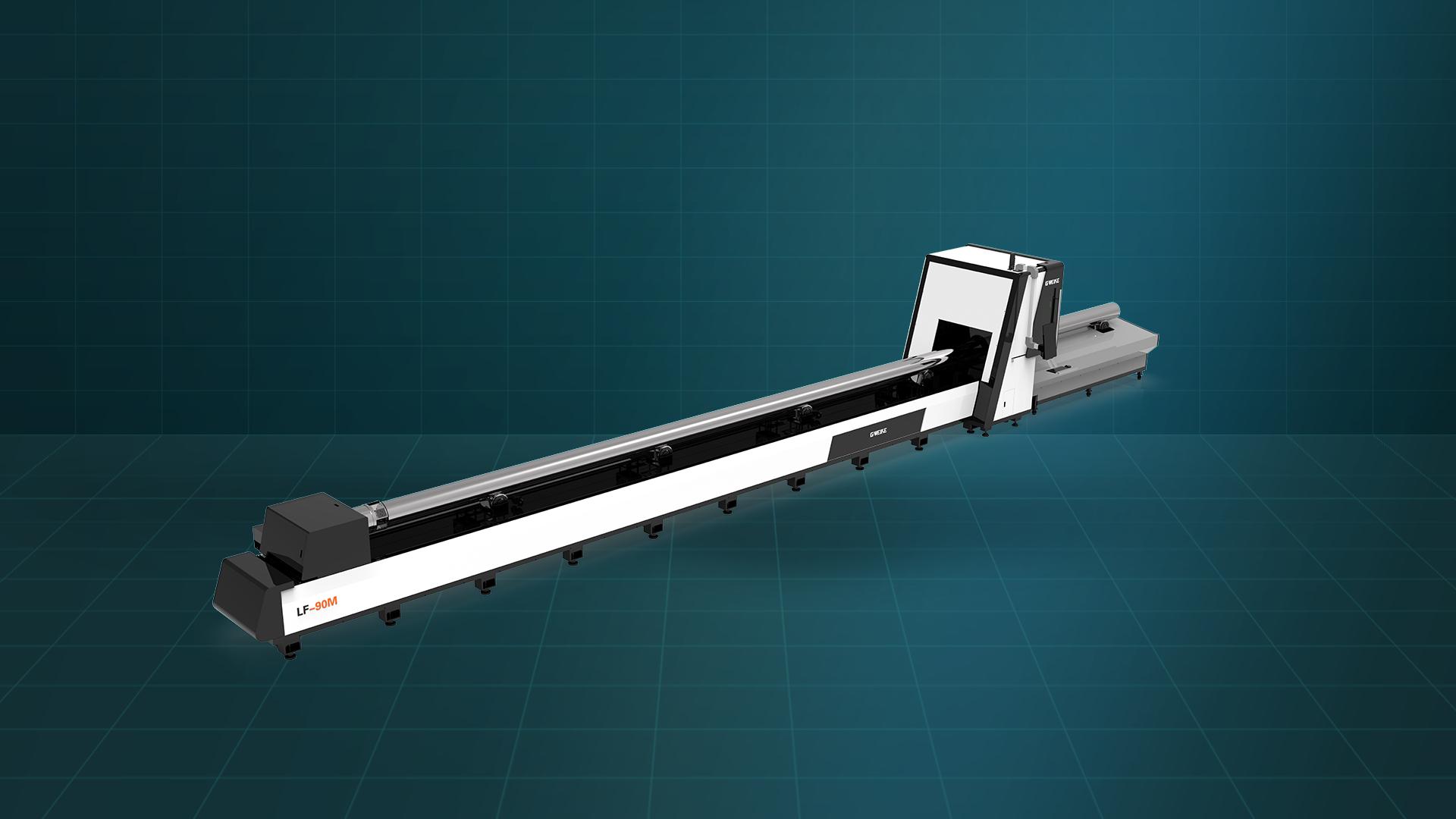 Máy cắt laser fiber ống kim loại LF-90M