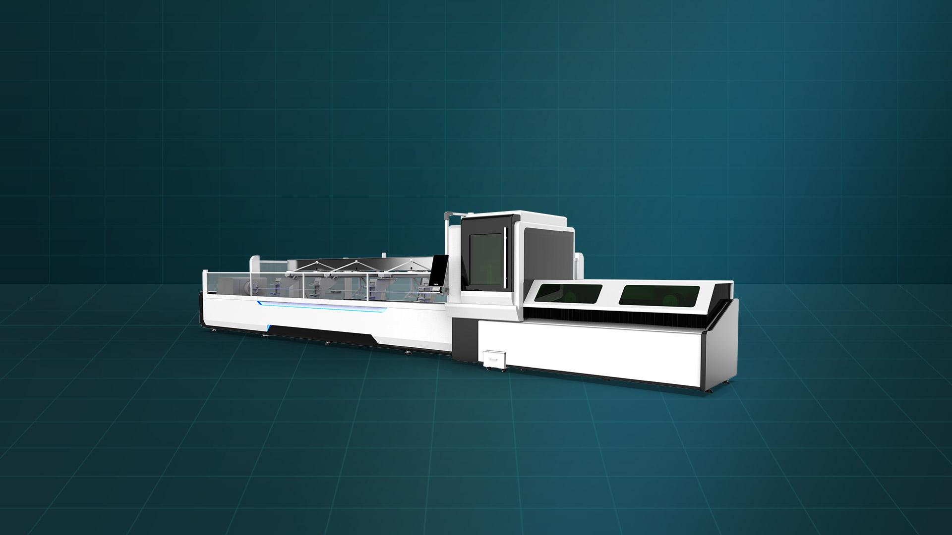 Máy cắt laser fiber ống thép LF-60MA