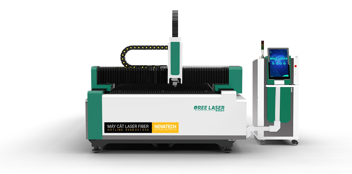 Máy cắt laser fiber bàn đôi OREE OR-EH