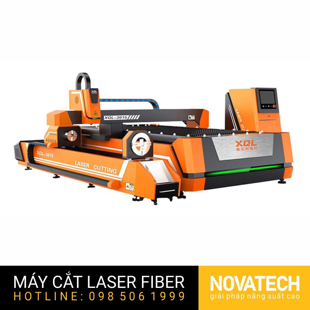 Máy cắt laser fiber tấm và ống XQL 3015-T6200