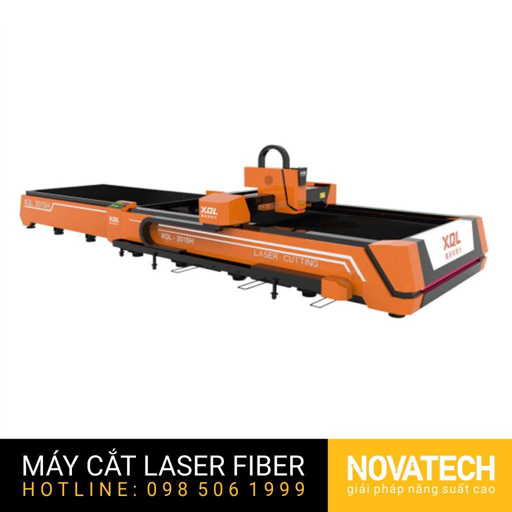 Máy cắt laser fiber bàn đôi XQL 3015H