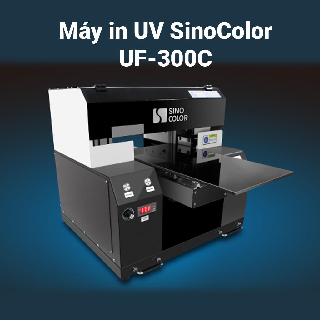 Máy in UV dạng bàn SinoColor UF-300C