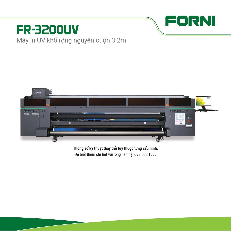Máy in UV khổ rộng 3.2m FORNI FJ-3200UV