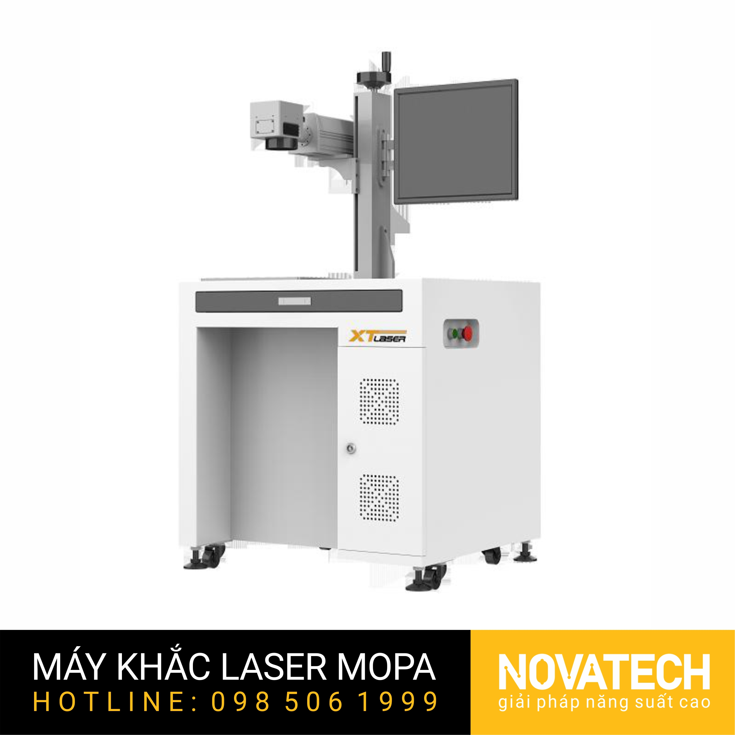 Máy khắc laser MOPA 20W XT-Laser kiểu desktop