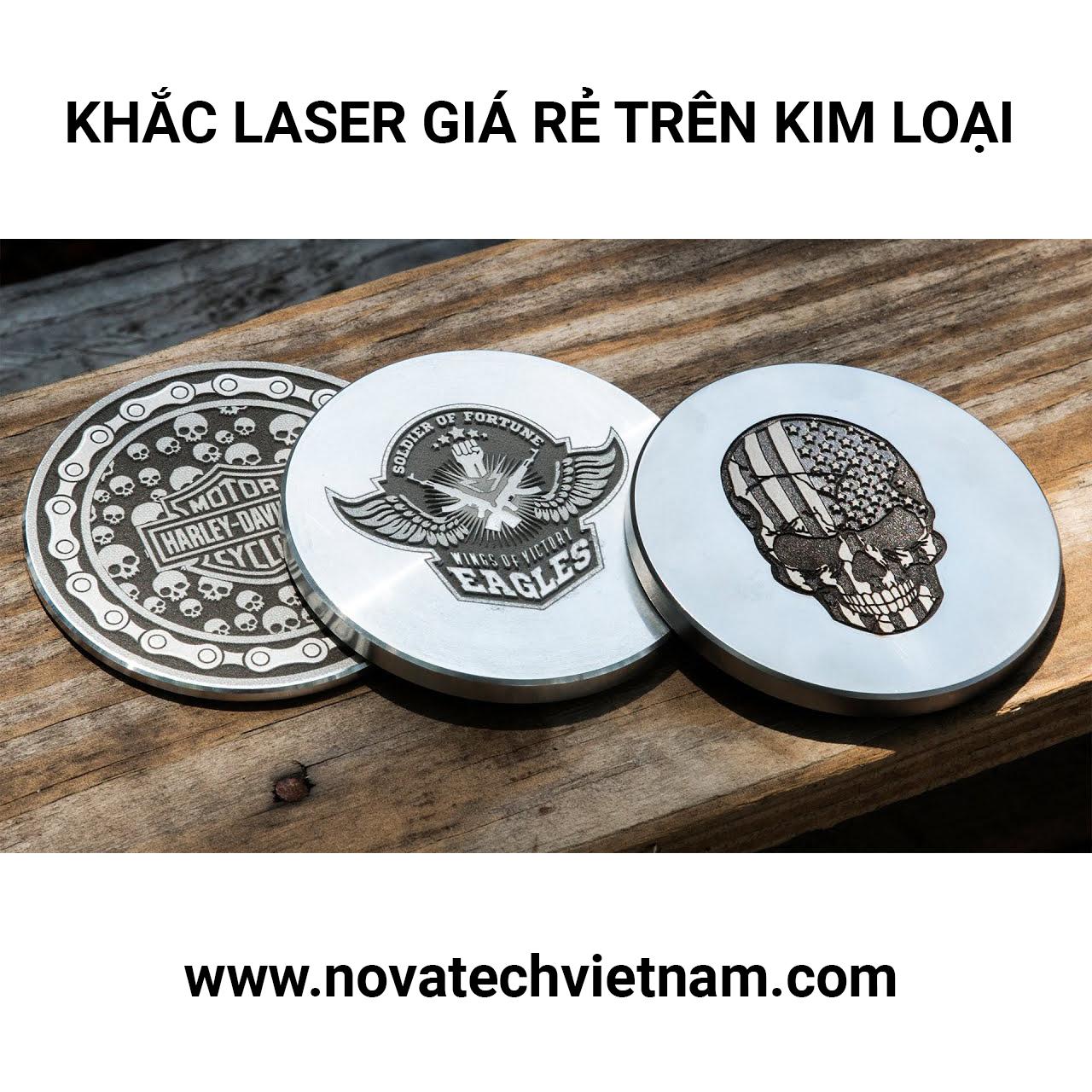 Khắc laser kim loại giá rẻ ở Hà Nội