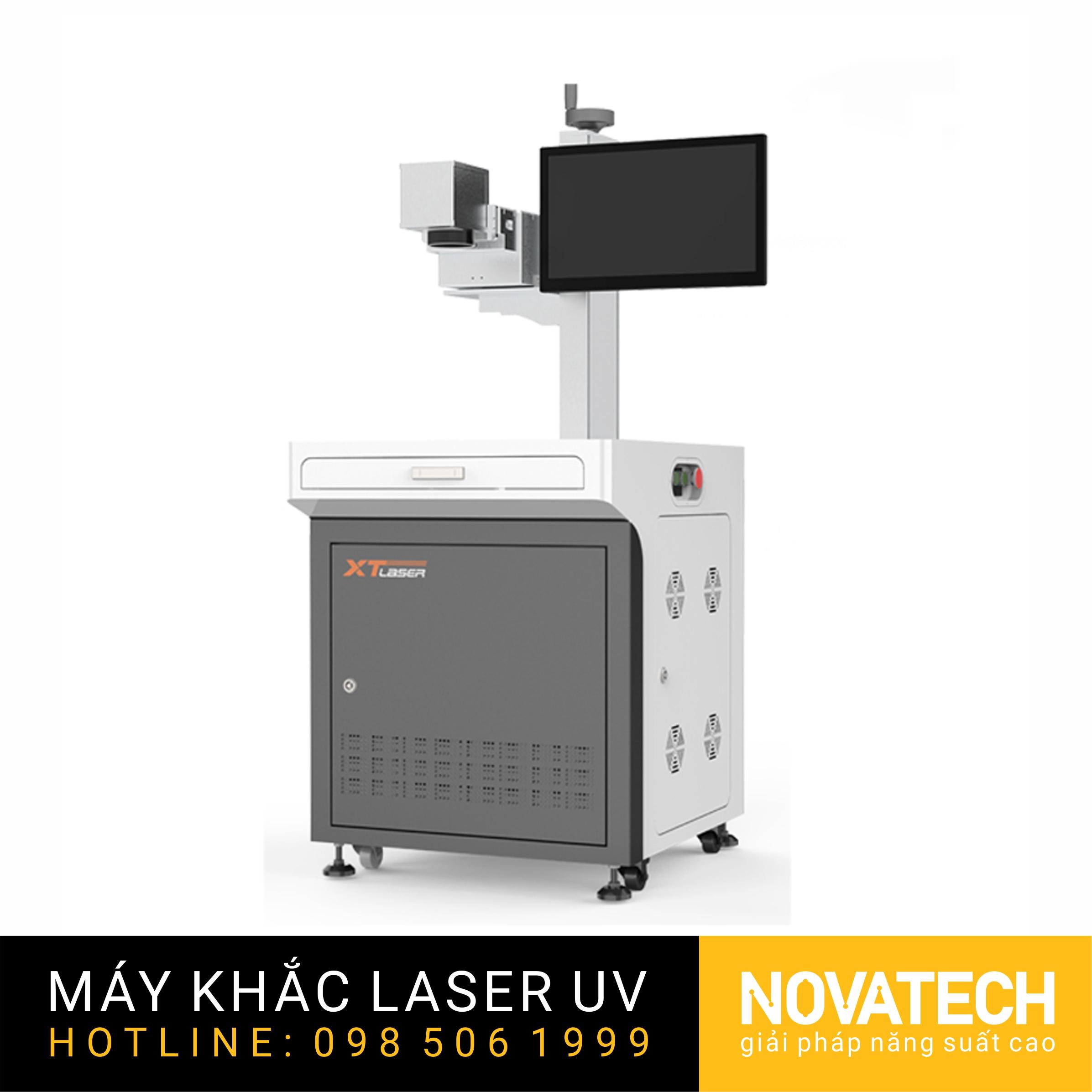 Máy khắc LASER UV 3W kiểu desktop
