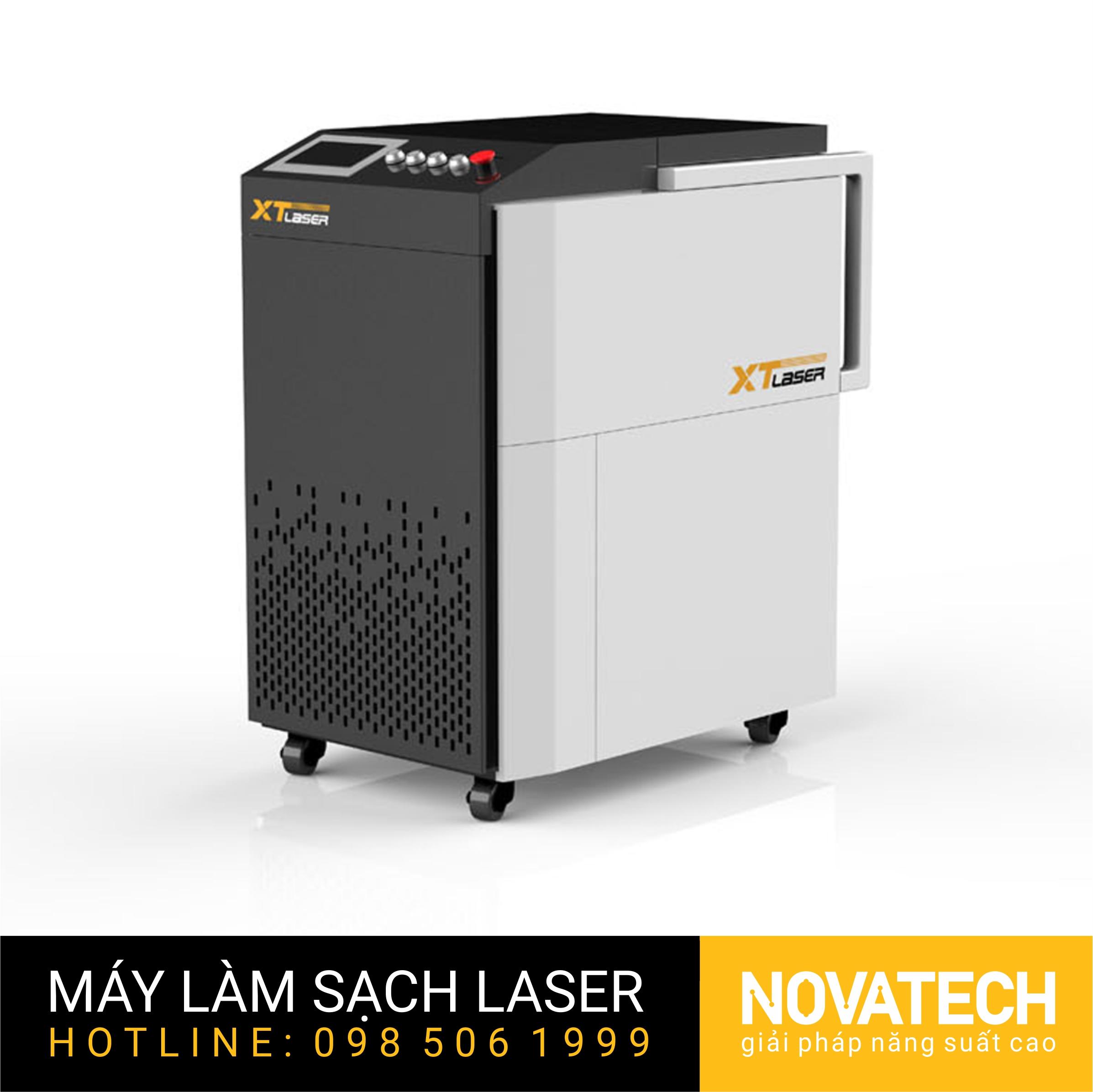 Máy làm sạch kim loại XT-Laser