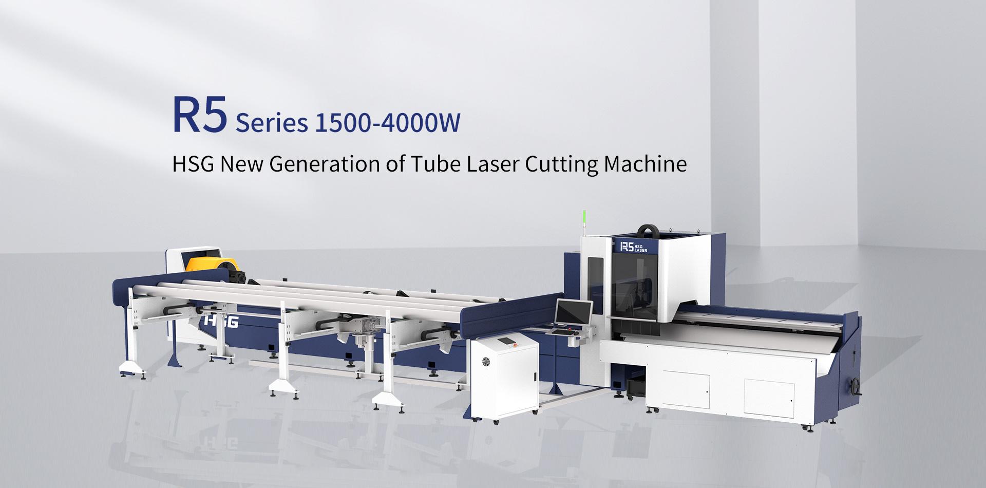 Máy cắt laser fiber HSG R5