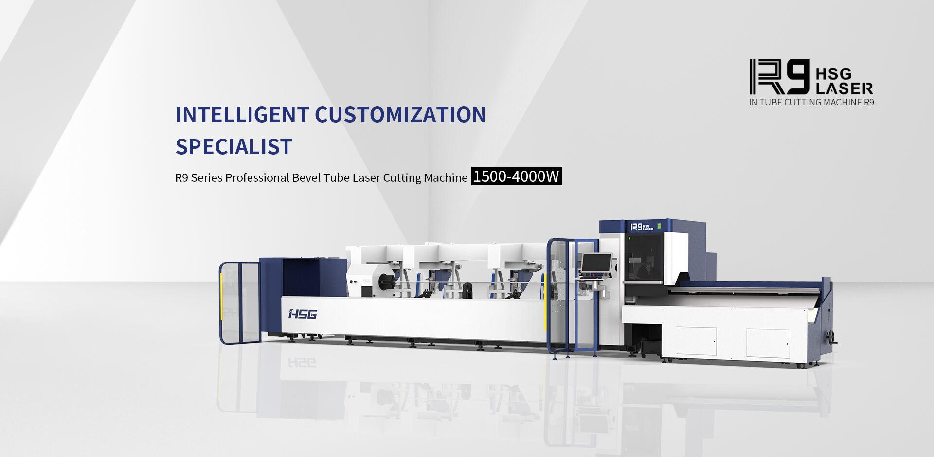 Máy cắt laser fiber HSG R9