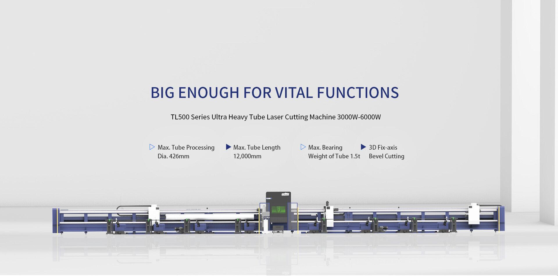 Máy cắt laser fiber HSG dòng TL500