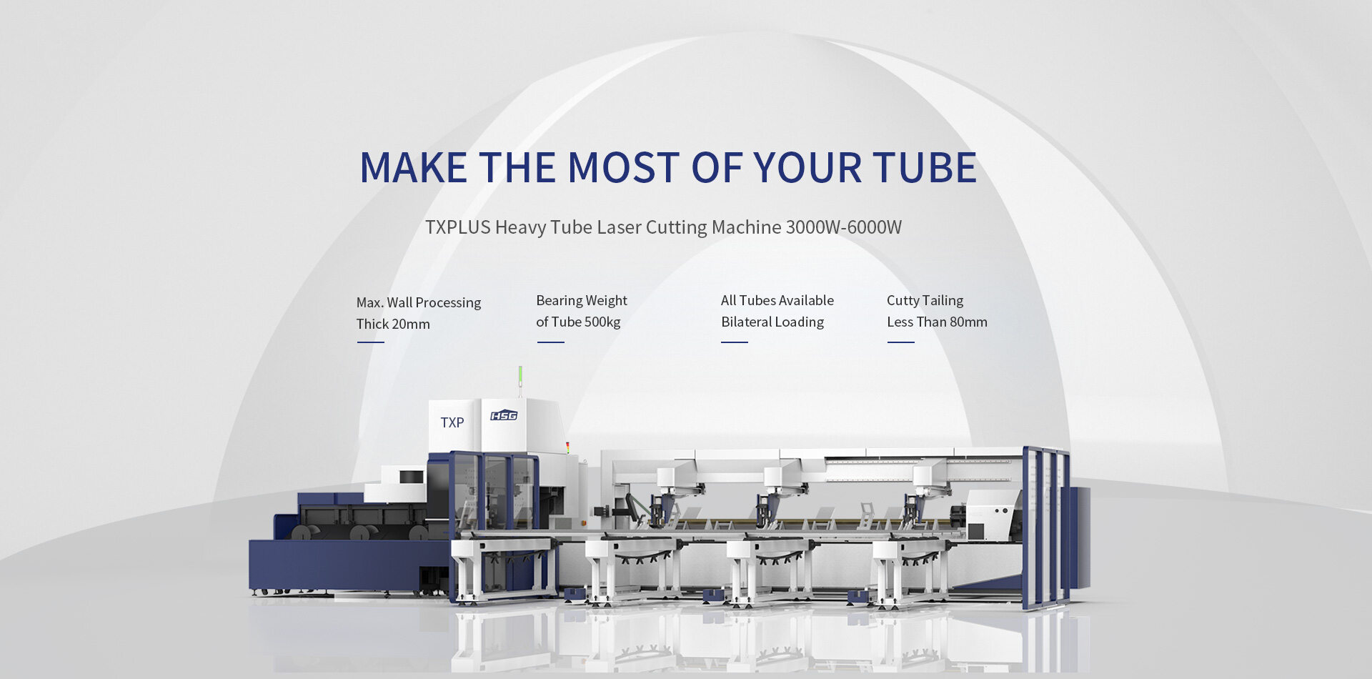 Máy cắt laser fiber HSG dòng TX PLUS