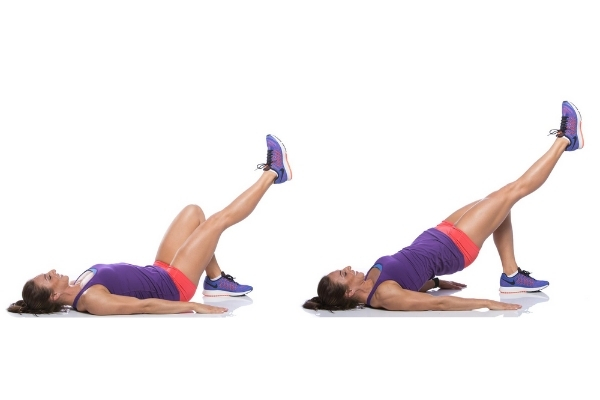 Single-leg Glute Bridge