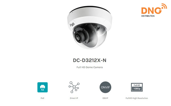 camera Dome IDIS Full HD DC-D3212X-N