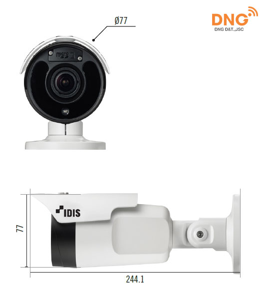 Camera IP IDIS DC-T4533HRX