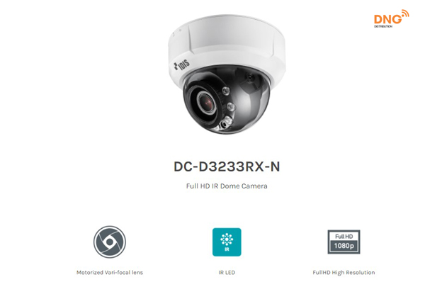 camera IP IDIS Dome IR Full HD DC-D3233RX-N