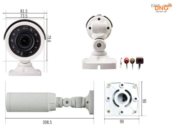Camera IDIS Full HD 2MP  DC-T3243HRX