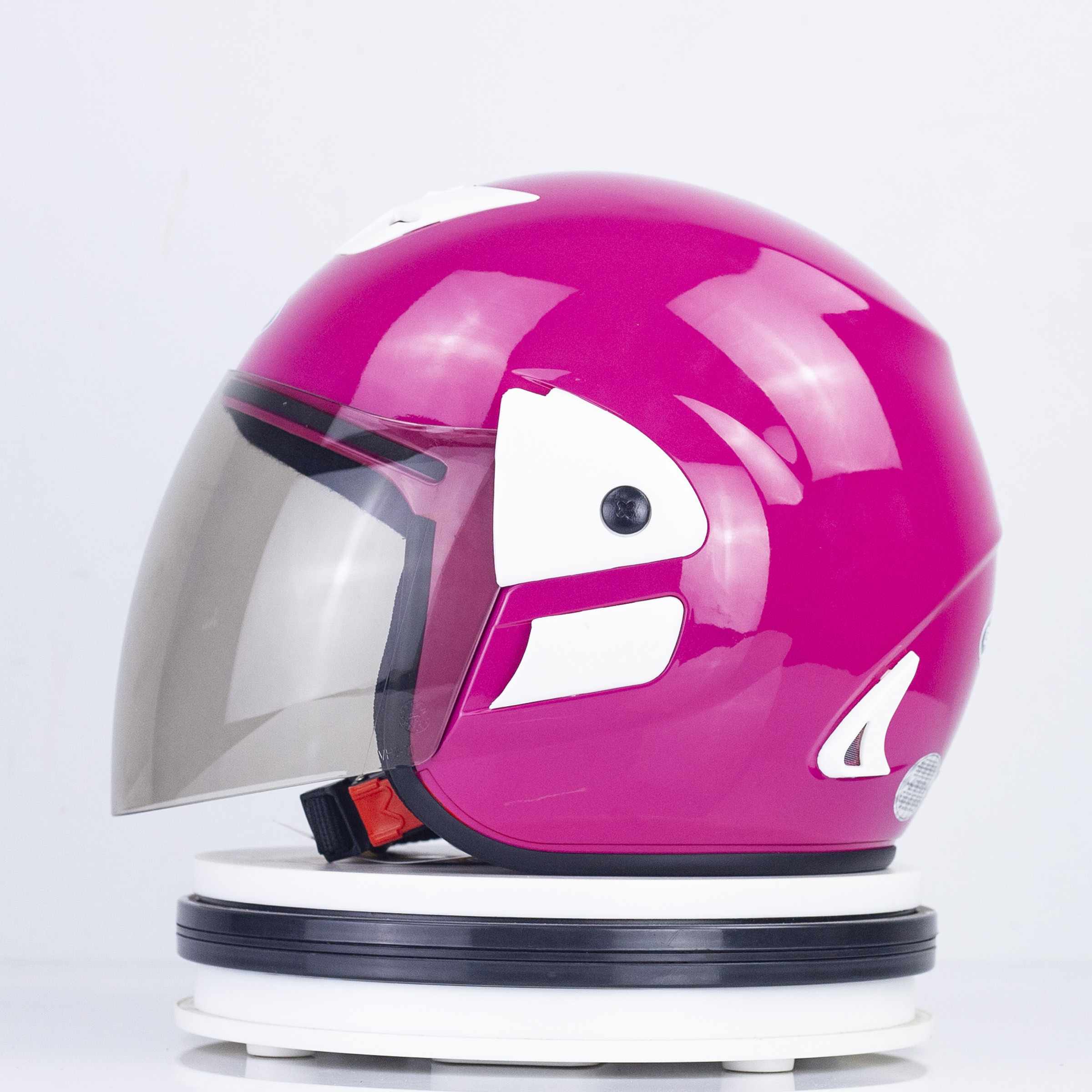 Mũ Bảo hiểm GRO 3/4 đầu - V2 Màu Hồng Bóng