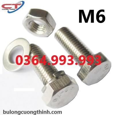 oc-luc-giac-ngoai-m6x20-m6x30-m6x35-m6x40-m6x50-m6x60-inox