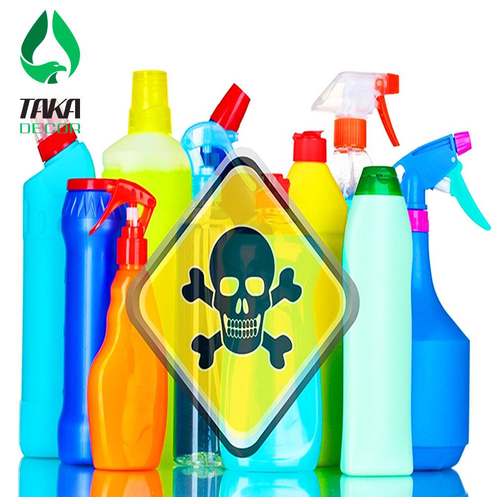 Tấm ốp tượng pvc chất lượng thấp chứa nhiều hóa chất độc hại