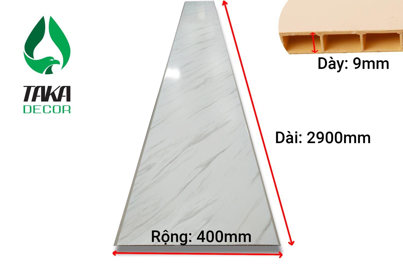 Thông số kĩ thuật tấm ốp tường pvc của takadecor
