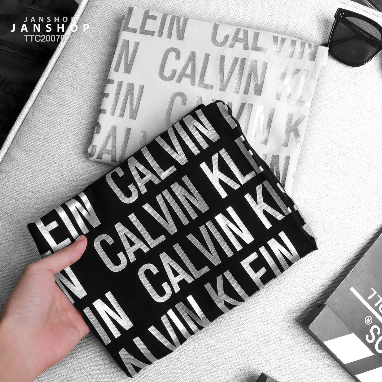 TANKTOP CALVIN KLEIN CHỮ BẠC