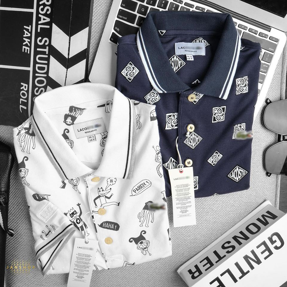 POLO LCST HỌA TIẾT