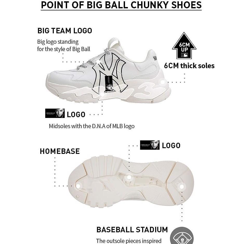 SNEAKER M.L.B BIG BALL CHUNKY