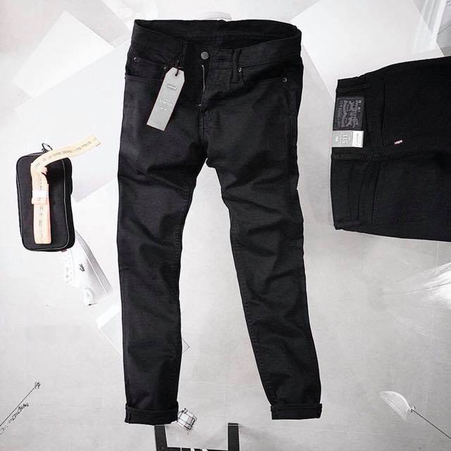 JEAN LEVIS ĐEN 511 SLIM FIT