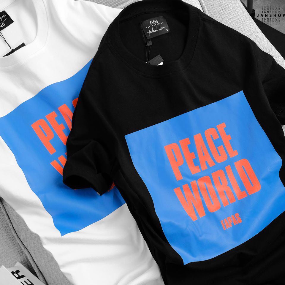 ÁO THUN FAPAS PEACE WORLD