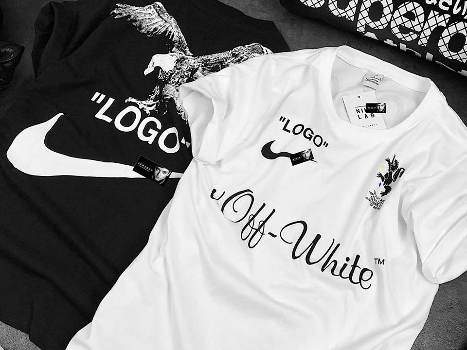 ÁO THUN NAI OFF-WHITE