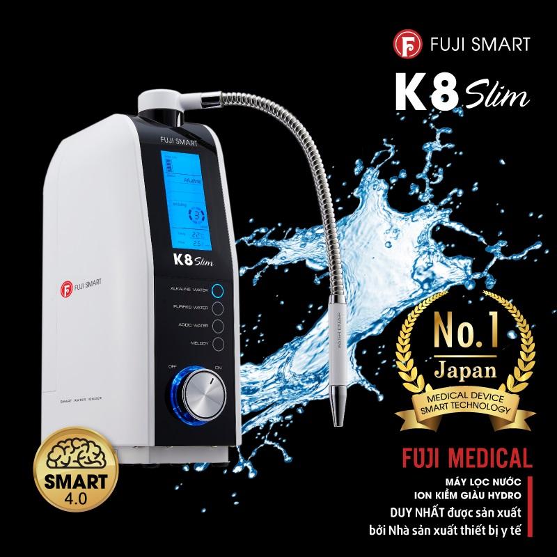 Công nghệ SMART 4.0 giúp Fuji Smart K8 Slim nâng cao hiệu suất vượt trội.