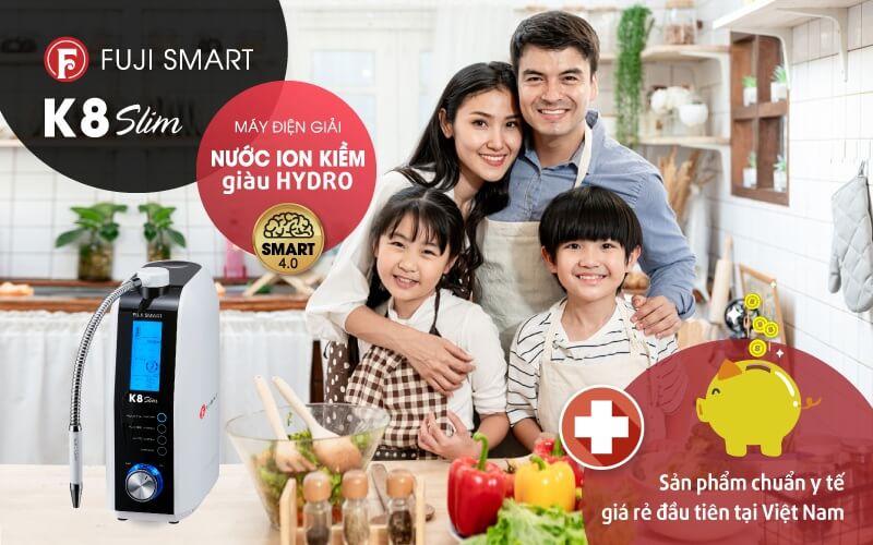 Fuji Smart K8 Slim - Thiết bị đạt chuẩn y tế với giá thành rẻ.