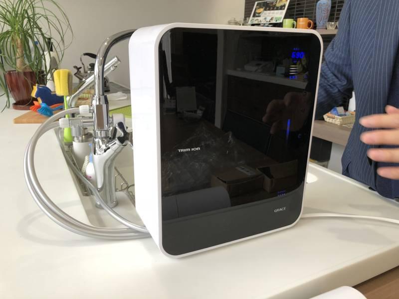 Máy Lọc Nước Điện Giải Ion Kiềm TRIMION GRACE thiết kế sang trọng và hiện đại