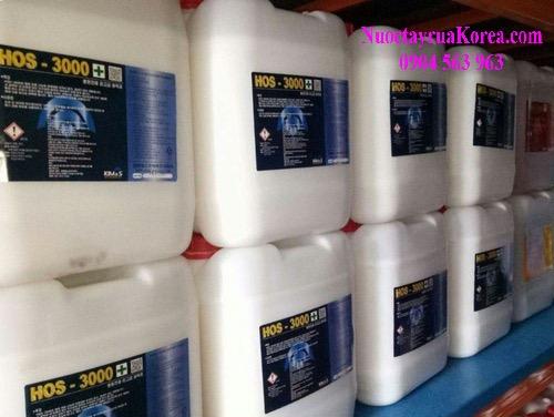 Chất tẩy rửa công nghiệp cao cấp nhập khaair Hàn Quốc