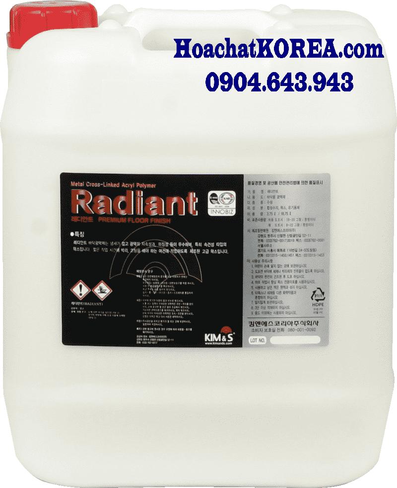 Hóa chất phủ bóng sàn cứng RADIANT