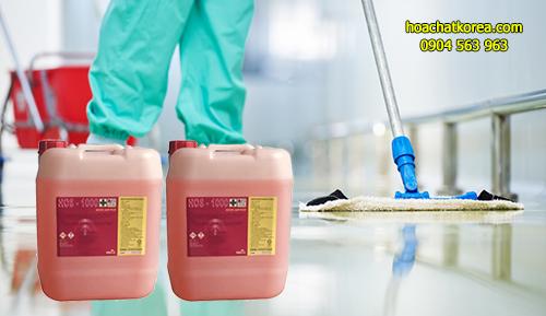 HOS 1000 là loại hóa hóa chất tẩy sàn, bóc sàn đậm đặc chuyên dụng cho bệnh viện