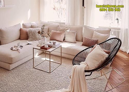 không thể giặt thảm, đệm, ghế sofa theo cách giặt thông thường