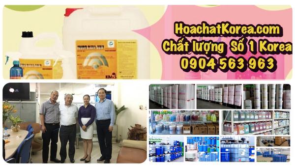 Cty Hóa chất tẩy rửa vệ sinh làm sạch KOREA