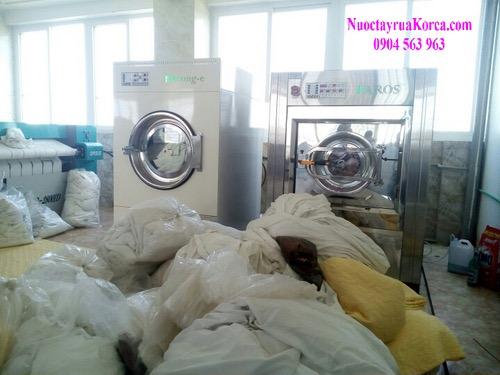 Hóa chất giặt là giặt tẩy công nghiệp nhập khẩu Hàn Quốc