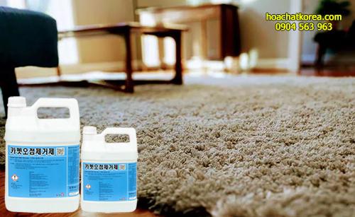 Hoá chất Spot Stain Remover dùng để làm mờ, làm sạch các vết bẩn