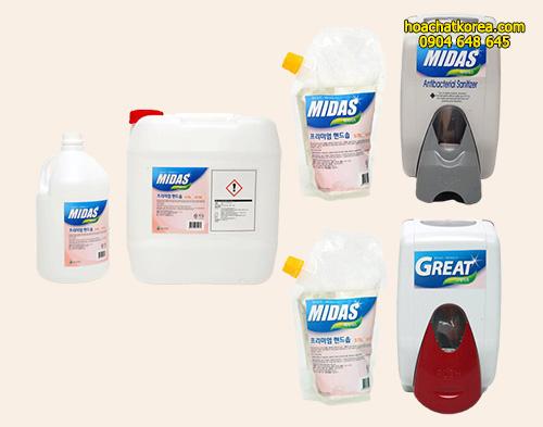 Nước rửa tay diệt khuẩn Great Premium Hand Soap