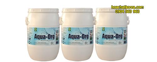 Chlorine Aqua ORG Chất diệt khuẩn khử trùng và xử lý nước cho ao nuôi bể bơi