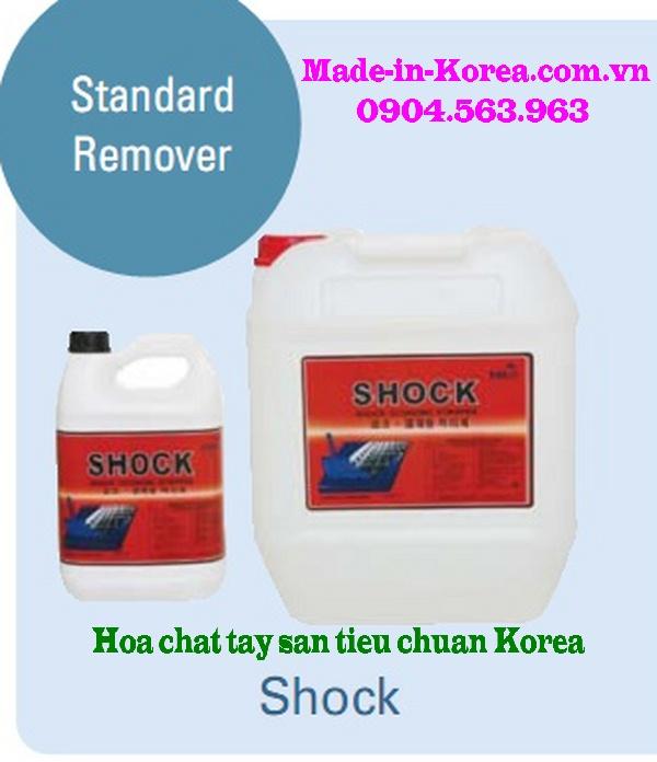 SHOCK - Hóa chất tẩy sàn vệ sinh sàn tiêu chuẩn nhập khẩu Hàn Quốc