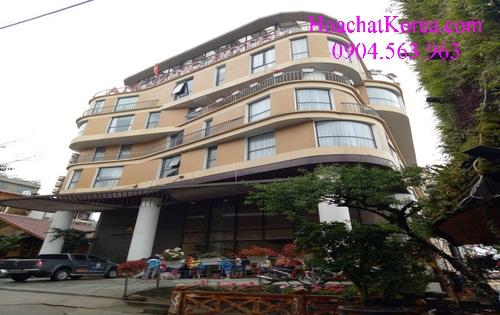chất vệ sinh khách sạn Sapa - Lào Cai
