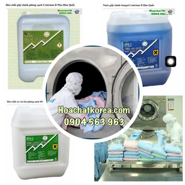 Hóa chất giặt phòng sạch chuyên dụng