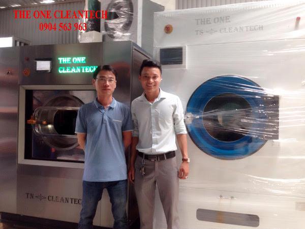 Liên Doanh sản xuất Máy giặt công nghiệp đầu tiên tại Việt Nam