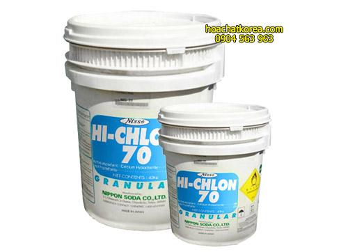 Chlorine Tosoh Niclon Chất khử trùng khử mùi nước hồ bơi ao nuôi nhà máy